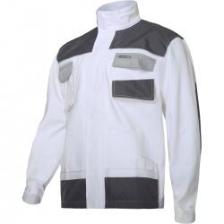 Bluza robocza biała ochronna bawełna Lahti Pro L40413