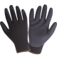 Winter protective gloves insulated black nitrile coated Lahti Pro L2513