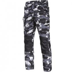 Spodnie bojówki moro wzmocnione slim fit Lahti Pro L40514