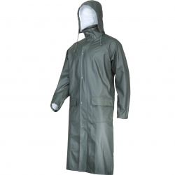 Green raincoat Lahti Pro L41706