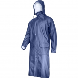 Lahti Pro L41705 navy blue polyurethane raincoat