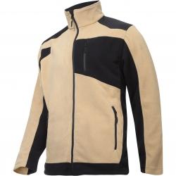 Bluza polarowa ze wzmocnieniami beżowa Lahti Pro L40119