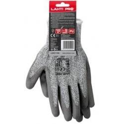 Rękawice ochronne o podwyższonej odporności na przecięcie ostrzem 10, LahtiPro L200110K