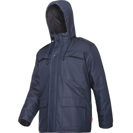 Winter insulated work jacket navy blue Lahti Pro L40928