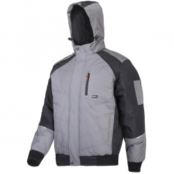 Winter insulated gray jacket Lahti Pro L40931