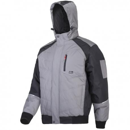 Winter insulated gray jacket Lahti Pro L40931
