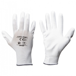 Protective gloves coated with polyurethane 600 pairs Lahti Pro L2307