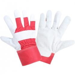 Ocieplane rękawice ochronne ze skóry bydlęcej Lahti Pro L251510K