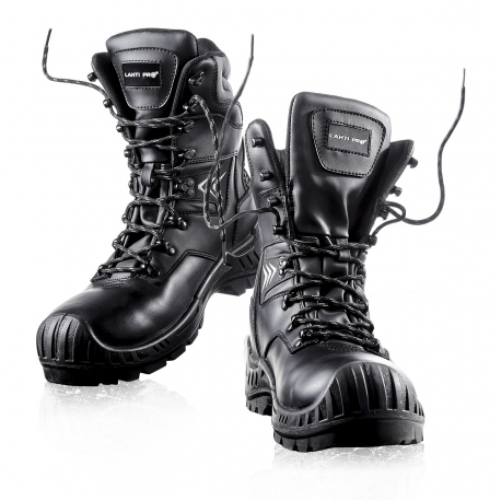 Black winter boots strong snow boots Lahti Pro L30304