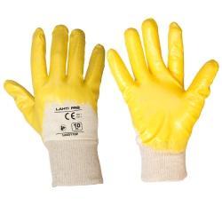 Rękawice ochronne powlekane nitrylem 12par LahtiPro L2201