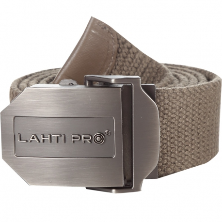 Pasek do spodni z klamrą beżowy Lahti Pro L9020400