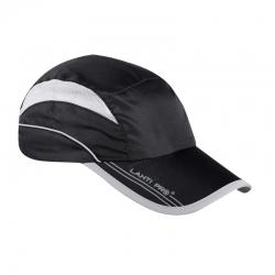 Czapka z daszkiem sportowa czarna Lahti Pro L101060S