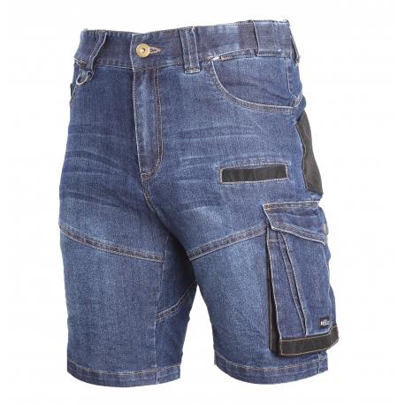 Spodenki jeansowe krótkie slim fit Lahti Pro L40707