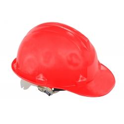 Kask budowlany przemysłowy czerwony Lahti Pro L1040106