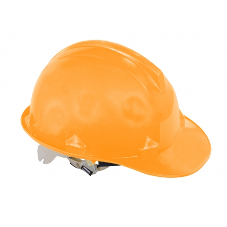 Orange industrial construction helmet Lahti Pro L1040103