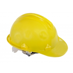 Yellow industrial construction helmet Lahti Pro L1040102