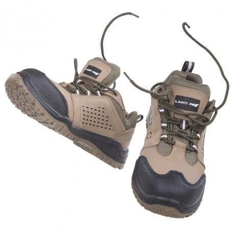 Work shoes nubuck steel toe cap S1 SRA Lahti Pro L30420