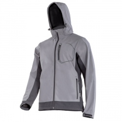 SOFTSHELL jacket with a hood waterproof breathable Lahti Pro LPKS2S