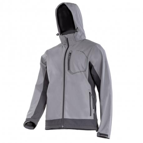 SOFTSHELL jacket with a hood waterproof breathable Lahti Pro LPKS2S