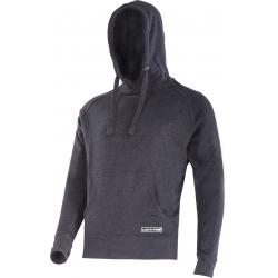 Bluza z kapturem czarna Lahti Pro L40131