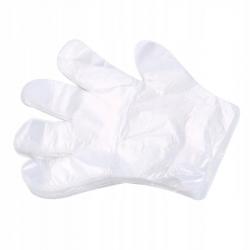 Rękawice foliowe jednorazowe HDPE 100 sztuk 46220