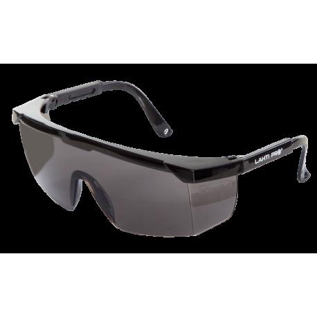 Okulary ochronne szare z regulacją odporność mechaniczna F Lahti Pro L1500900