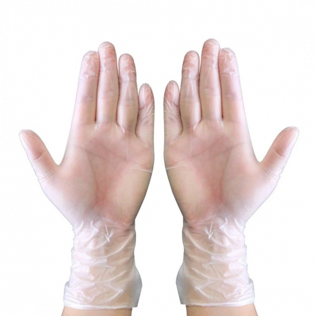 Rękawice jednorazowe medyczne winylowe 100 sztuk