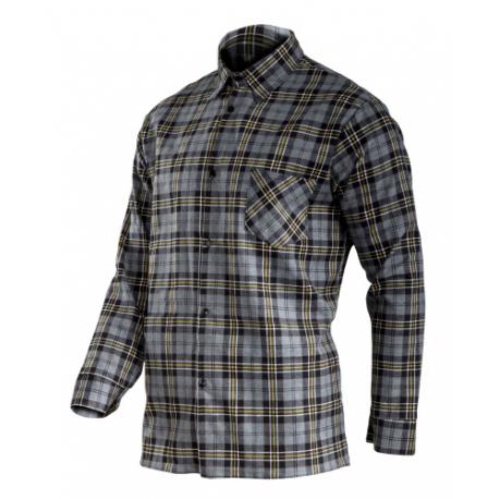 Koszula flanelowa szara 170g/m2 Lahti Pro L41810