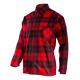 Koszula flanelowa czerwona bawełna 170g/m2 Lahti Pro L41809