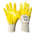 Rękawice ochronne powlekane nitrylem 12par LahtiPro L2202W