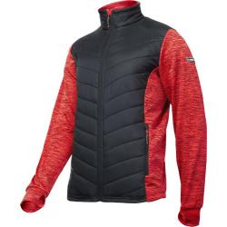 Bluza ocieplana pikowana męska czerwona Lahti Pro L40132