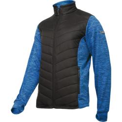 Bluza ocieplana pikowana męska niebieska Lahti Pro L40133