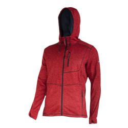 Bluza dresowa czerwona z kapturem Lahti Pro L40134