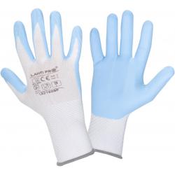 Rękawice robocze ochronne powlekane nitrylem Lahti Pro L2216