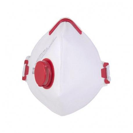 Maska antywirusowa półmaska przeciwpyłowa FFP3 zaworek 10 sztuk FS-930 V FFP3 NR D FS-20V FFP2 NR D