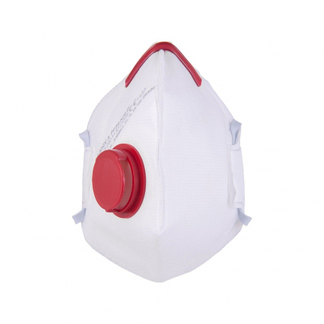 Maska antywirusowa półmaska przeciwpyłowa FFP3 zaworek 10 sztuk FS-930V A FFP3 NR D