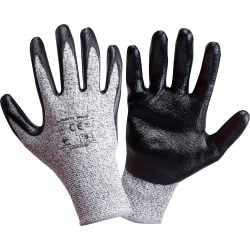 Protective gloves with increased resistance to cuts LahtiPro L2002