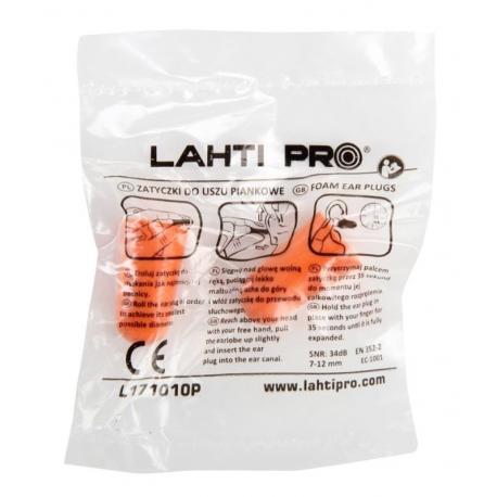 Zatyczki do uszu piankowe LahtiPro L171010K