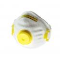 Półmaski przeciwpyłowe jednorazowe z zaworkiem 3szt., Profix 46007