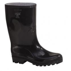 Kalosze męskie czarne średnio-wysokie PVC OB E LAHTIPRO L30701