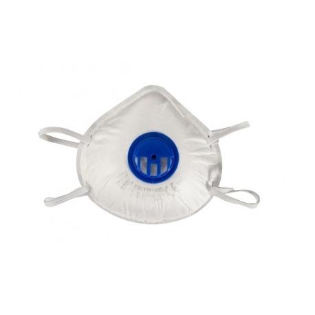 Maska przeciwpyłowa FFP1 z zaworkiem CE 3 sztuki LahtiPro L1200200