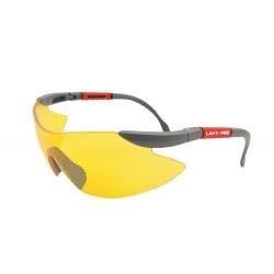 Okulary ochronne żółte z filtrem UV F1 LahtiPro 46039