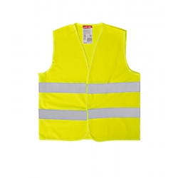 Yellow reflective vest for kids 'S' 4-6 years LahtiPro