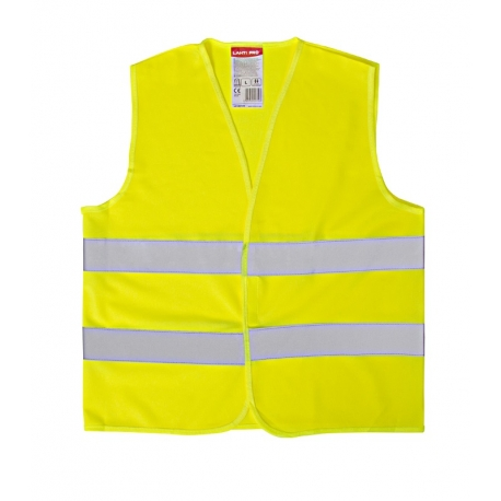 Yellow reflective vest for kids 7-9 years LahtiPro
