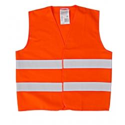 Kamizelka odblaskowa dla dzieci pomarańczowa 10-12 lat LahtiPro