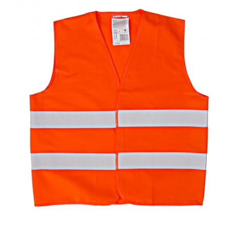 Orange reflective vest for kids 10-12 years LahtiPro