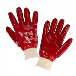 Rękawice oblewane PVC, 12szt LahtiPro L2401