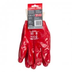 Rękawice oblewane PVC rozmiar 10 LahtiPro L240110K
