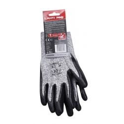 Rękawice ochronne o podwyższonej odporności na przecięcia LahtiPro L2002