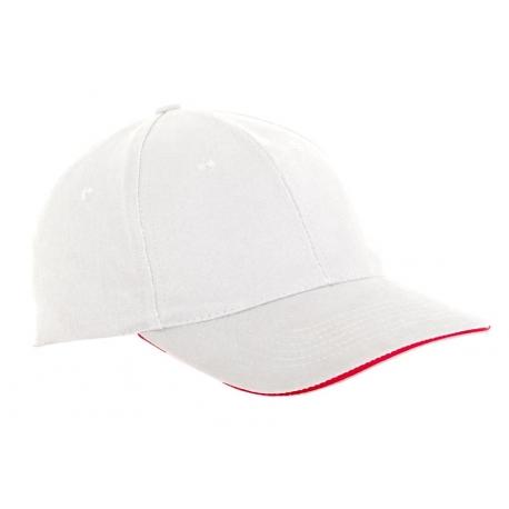 Cap cotton white 12 pieces Lahti Pro